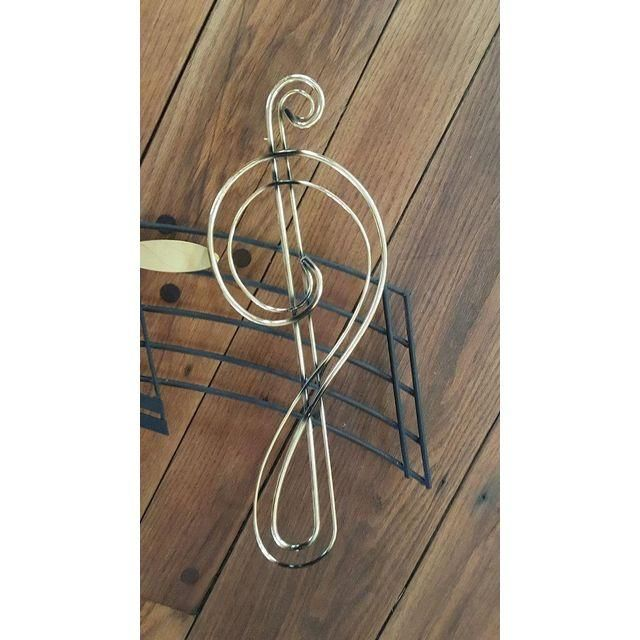 Image of Jere Musical Notes Wall Sculpture