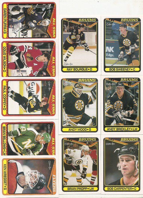 220 Old Vintage 1990 O Pee Chee Company Hockey Picture Cards In 2019