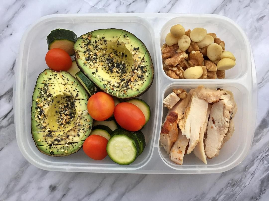 Keto Lunch Box Idea Packed Fast With Easylunchboxes Avocado