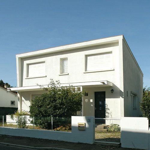 Villa architecture royan 1950 8 mid century cities for Architecte charente