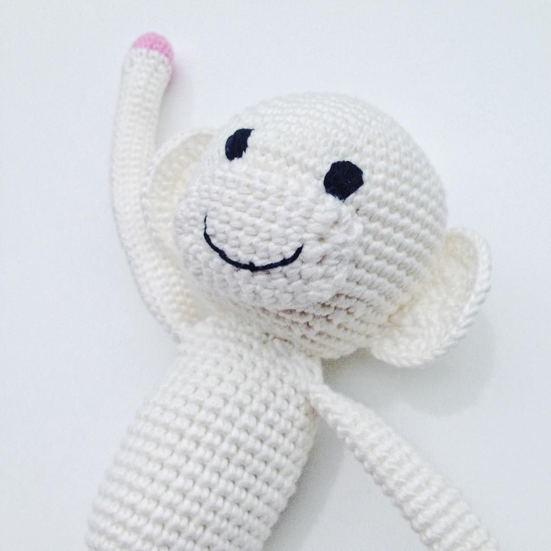 Crochet amigurumi monkey by @onceuponawhimnz • | Once Upon a Whim ...