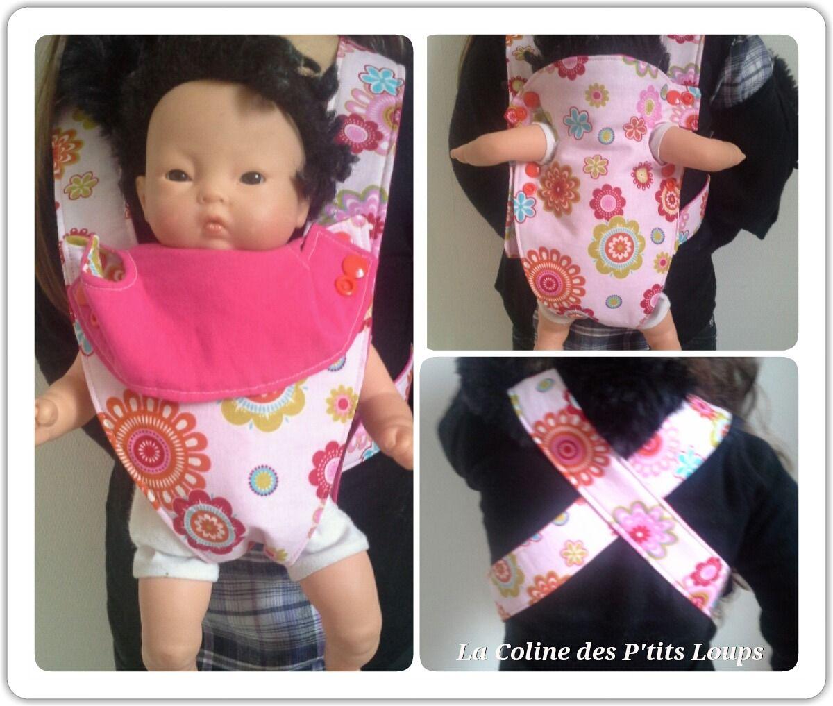 e5a9d0d3314 Porte bébé-poupée ajustable pour enfant   Jeux
