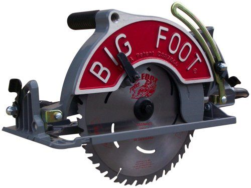 big foot sbfx bf 15 amp 1014inch wormdrive circular saw