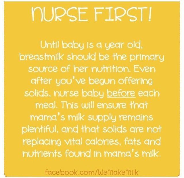 Nurse first