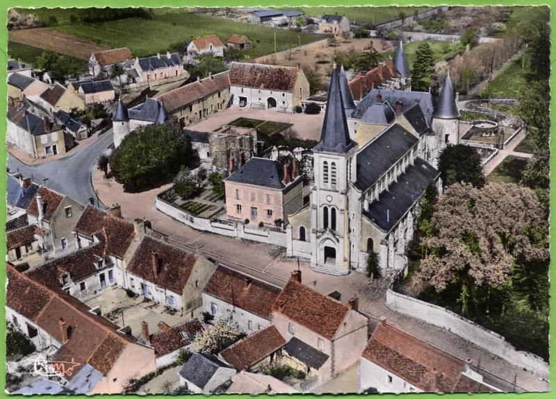Vue aérienne Château de La Ferté Saint Aubin Pinterest