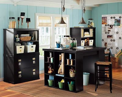craft room ideas bedford collection. Craft Room! Next House Needs A Finished Basement So I Can Have This. Room Ideas Bedford Collection