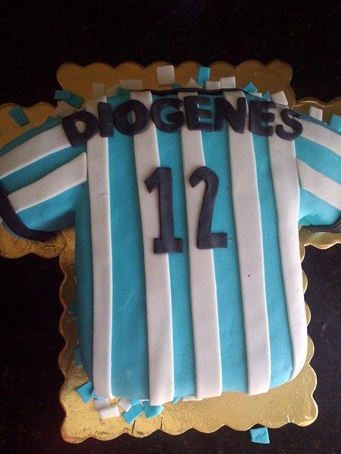 Soccer cake, franela de futbol argentina