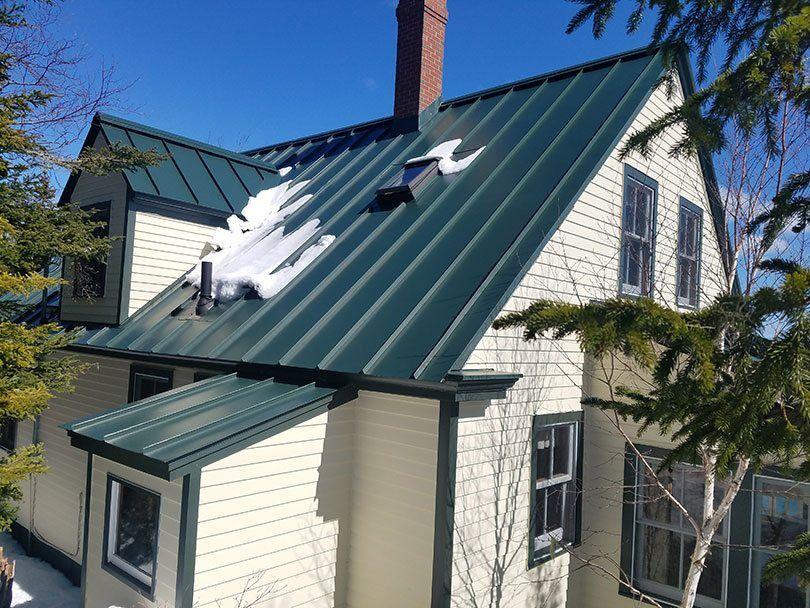 Green Metal Roof Big Metal Roofing Metal Roof Shingles Metal Shingle Roof Lowes Metal Roofing