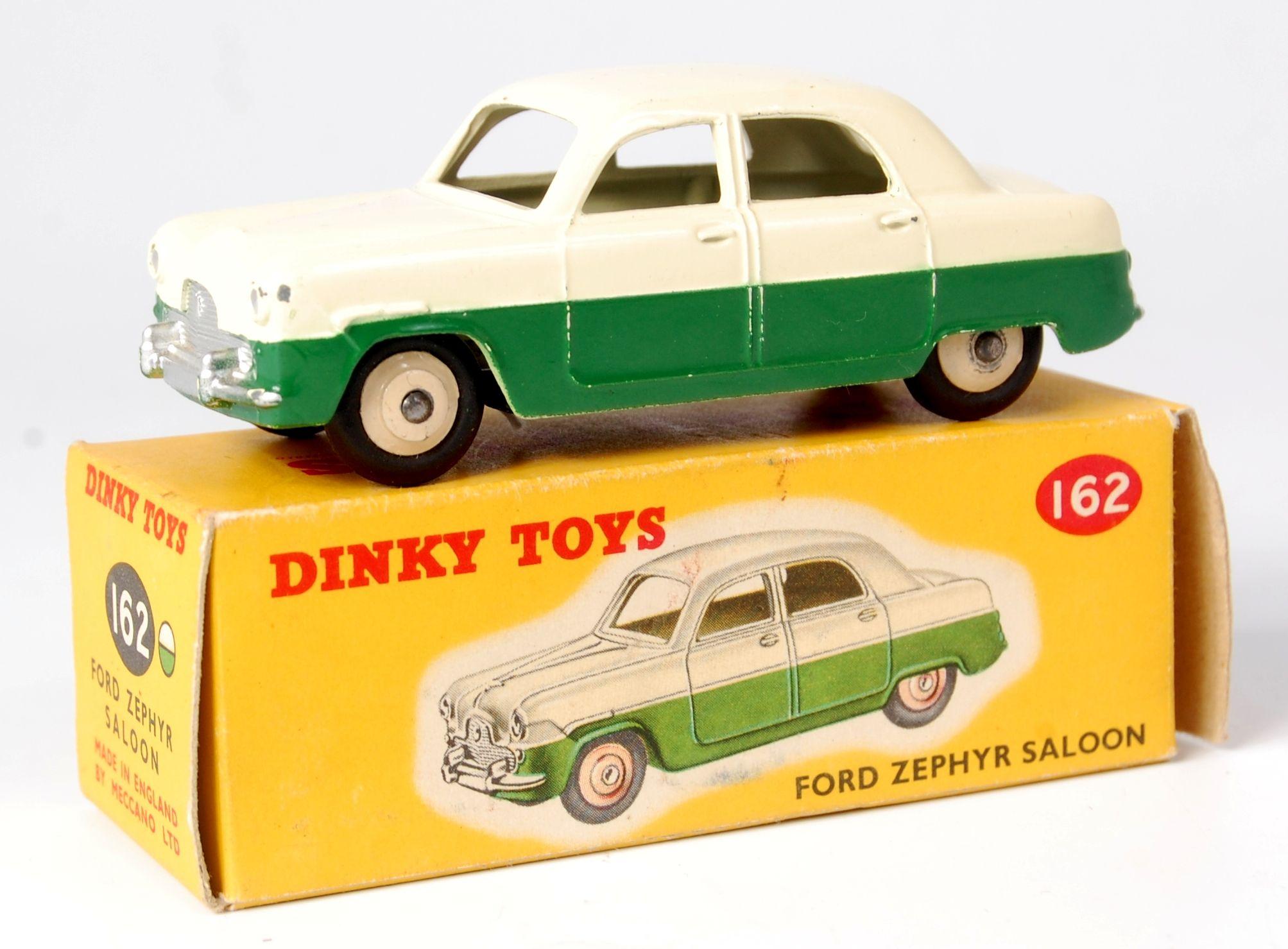 Lot 2003 Dinky Toys 162 Ford Zephyr Saloon Cream Upper Body