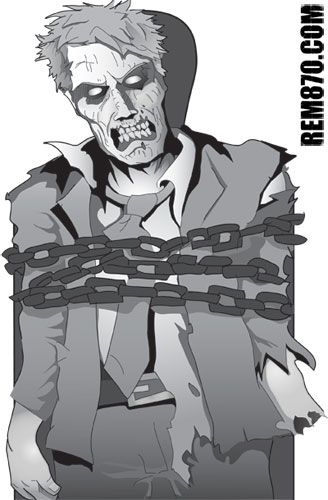 image about Printable Zombie Targets identify Pin upon Halloween