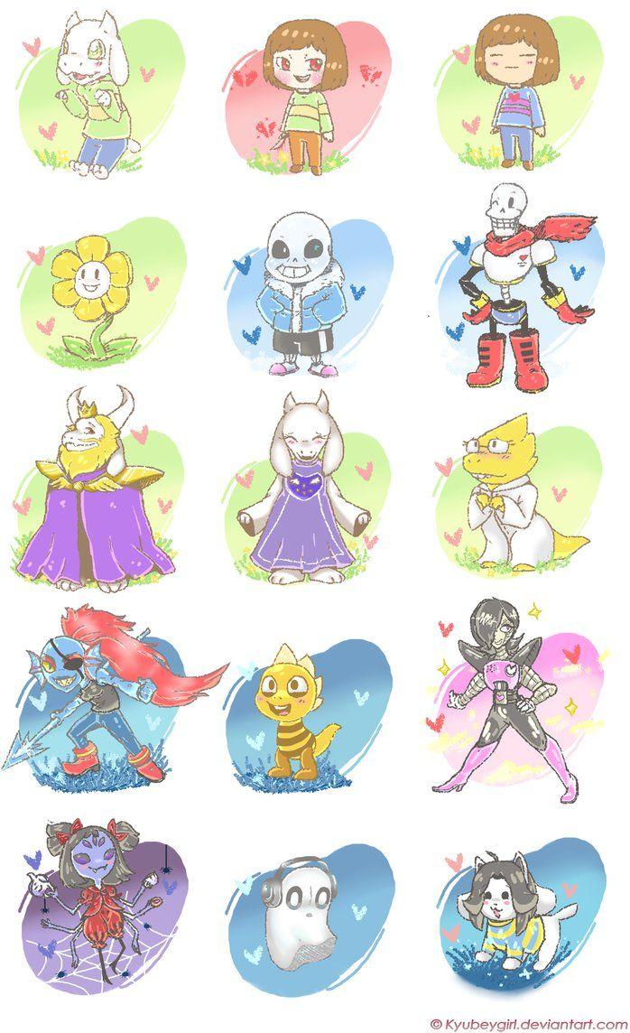 Undertale Characters Wallpaper Undertale Character Wallpaper Undertale Art