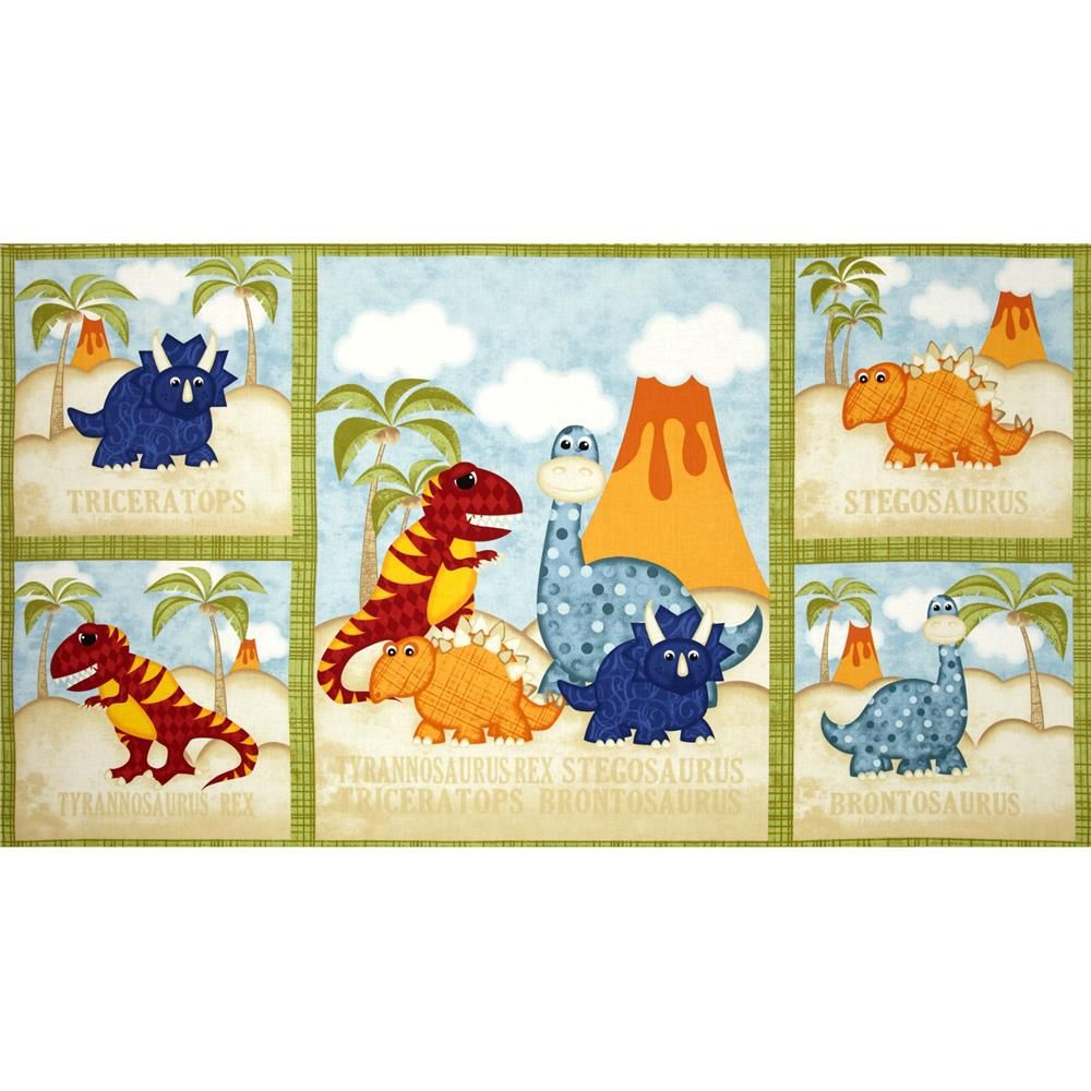 Have You Seen My Dinosaur? Quilt 24\