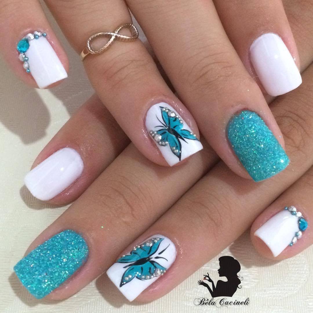 Pin by Camila Makoski on Nails | Pinterest | Manicure, Nail nail and ...