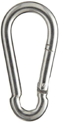 Peerless 4410640 Carbon Steel Fixed Securing Hook Snap Link