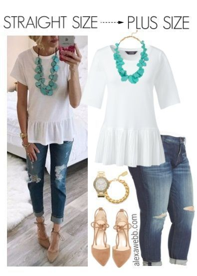 Photo of Straight Size to Plus Size – Summer Outfit – Alexa Webb