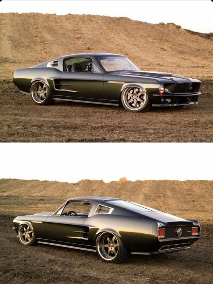 Ringbrothers 1967 Ford Mustang Reactor Modified With Images
