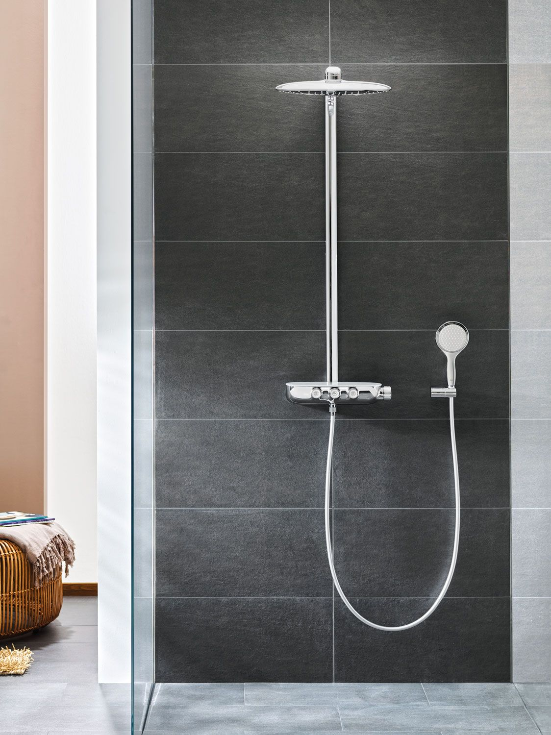 Grohe - SmartControl | House | Pinterest | Wall mount, Ranges and Walls