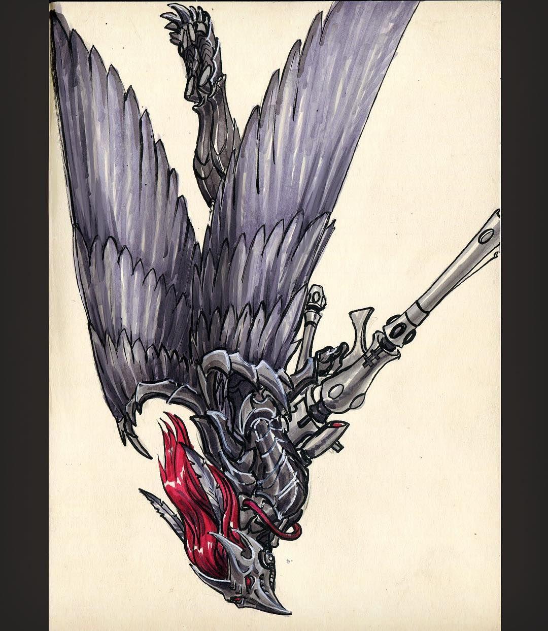 Pin By Sok On Eldar Inktober Pinterest Warhammer 40k Art Dark