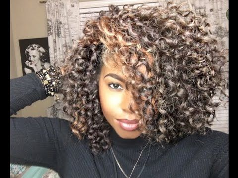 Crochet Braids Freetress Gogo Curl Full Thick Curls Youtube