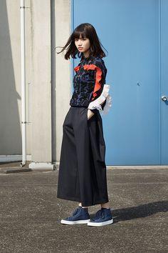 """9c427819ed572 yua  """" nana komatsu adidas  my style  lookbook 2016ss """""""