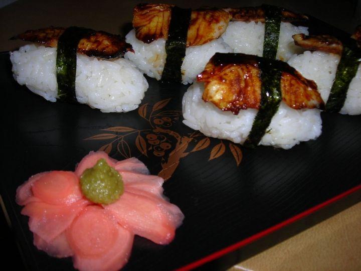 Fake Unagi Sushi Recipe
