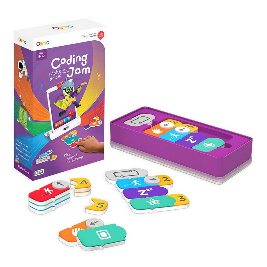 Osmo Genius Kit + Coding Jam Jam games, Music jam