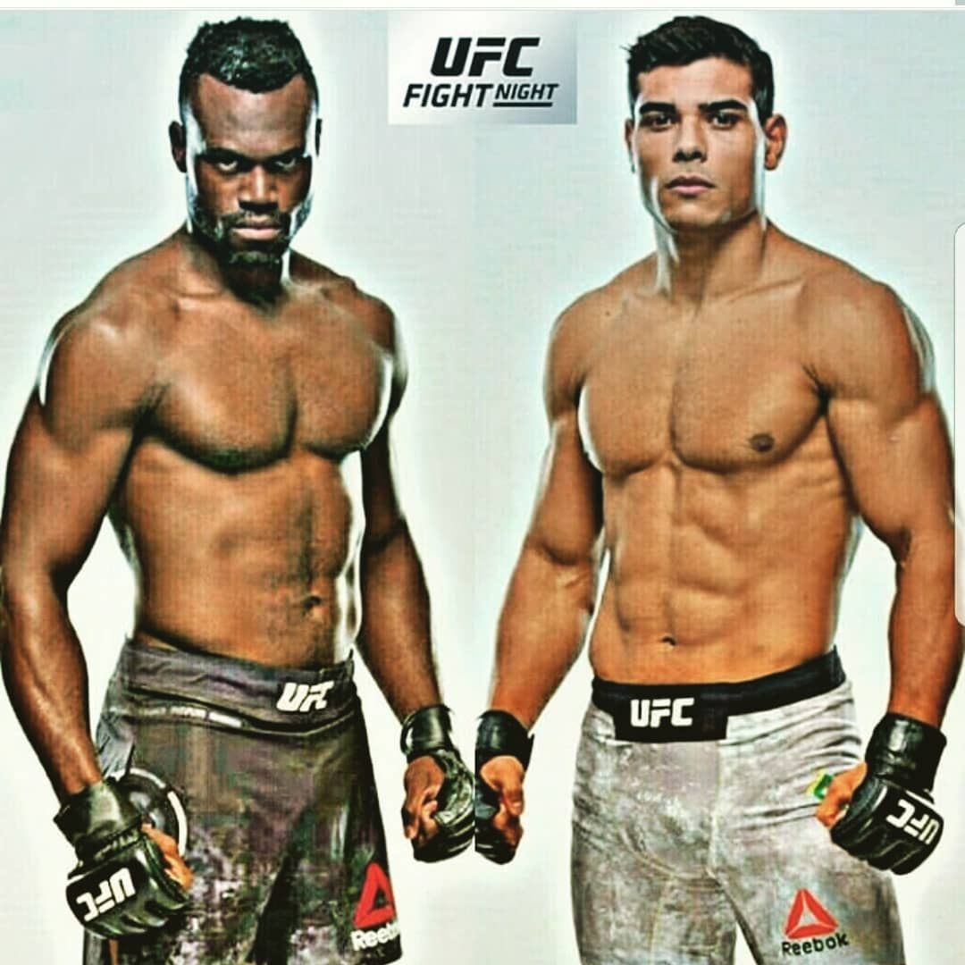 Paulo Borrachinha Costa Vs Uriah Hall At Ufc Atlantic City On The 21st Of April Ufc Boxing Mma Ufc