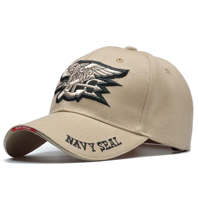 conception adroite style à la mode nouveau design US Navy Cap Fashion Cool Male Seal Air Soft Tactical Bone ...