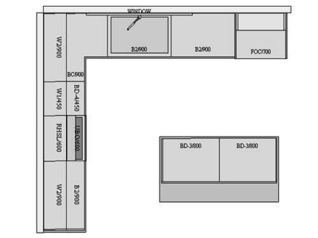 Die Perfekte Kuche Layout Kuche Design Ohne Insel Kleine U Formige Kuche Design L Formige Offene Grundriss L Shaped Kitchen L Shape Kitchen Layout Floor Plans
