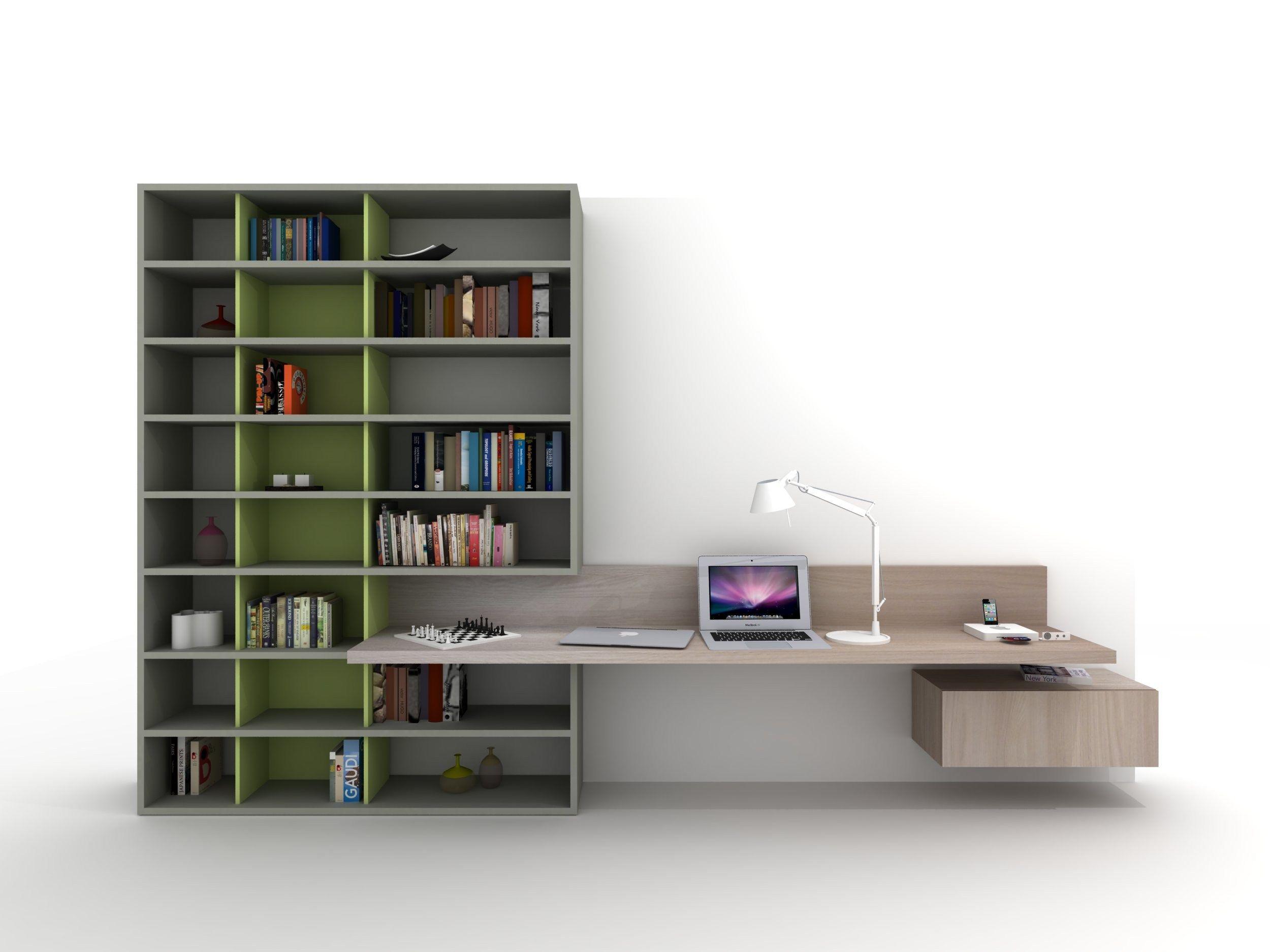 Escritorio Con Estantería Para Habitaciones De Niños Z410 By Zalf