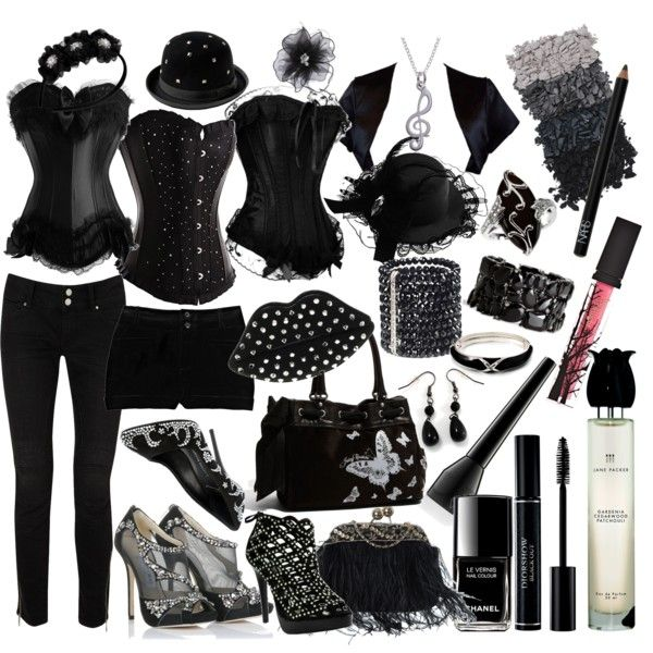 corsets, created by helln on Polyvore