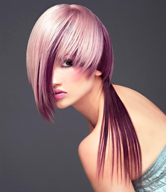 high fashion hair design