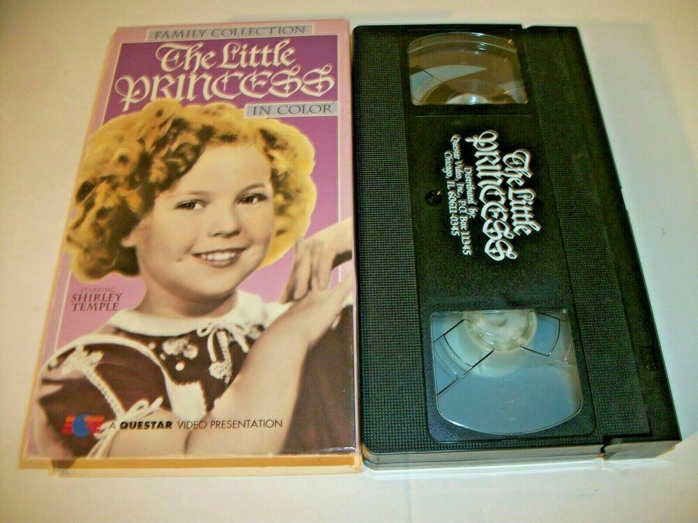 The Little Princess Vhs Vhs Richard Greene Little Princess