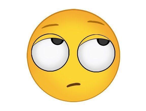eye roll emoji emojis