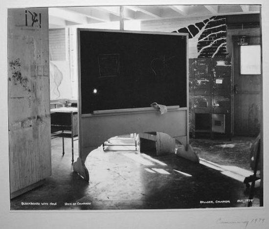 Blackboard with Hole, 1979 (1)