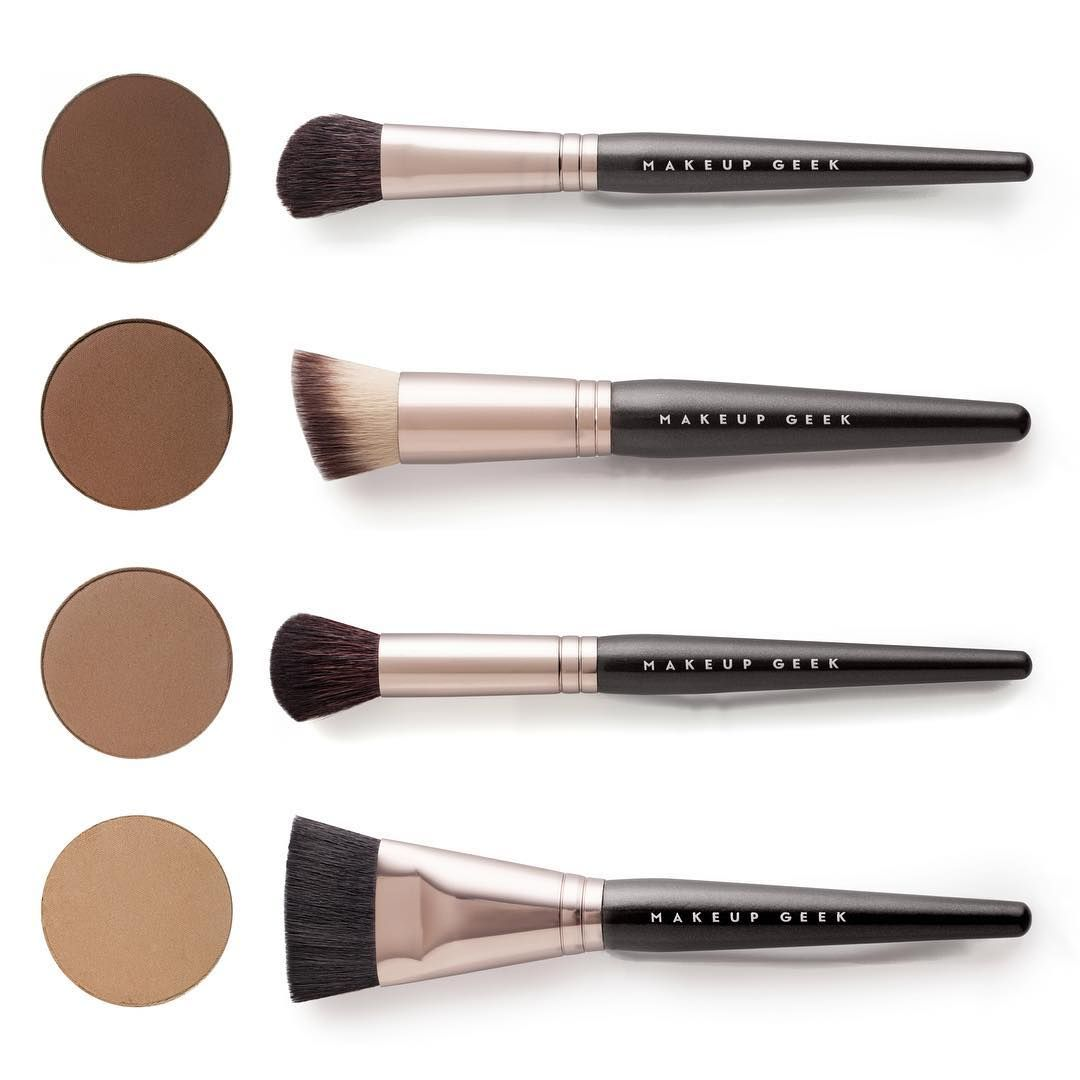 Which brush is your favorite to use for applying contour powders?