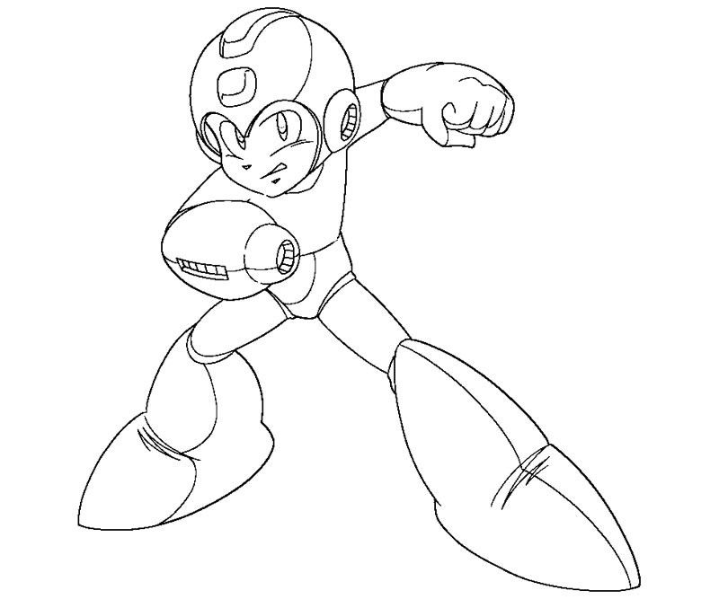 Mega Man Coloring Sheet Google Search Mega Man 9