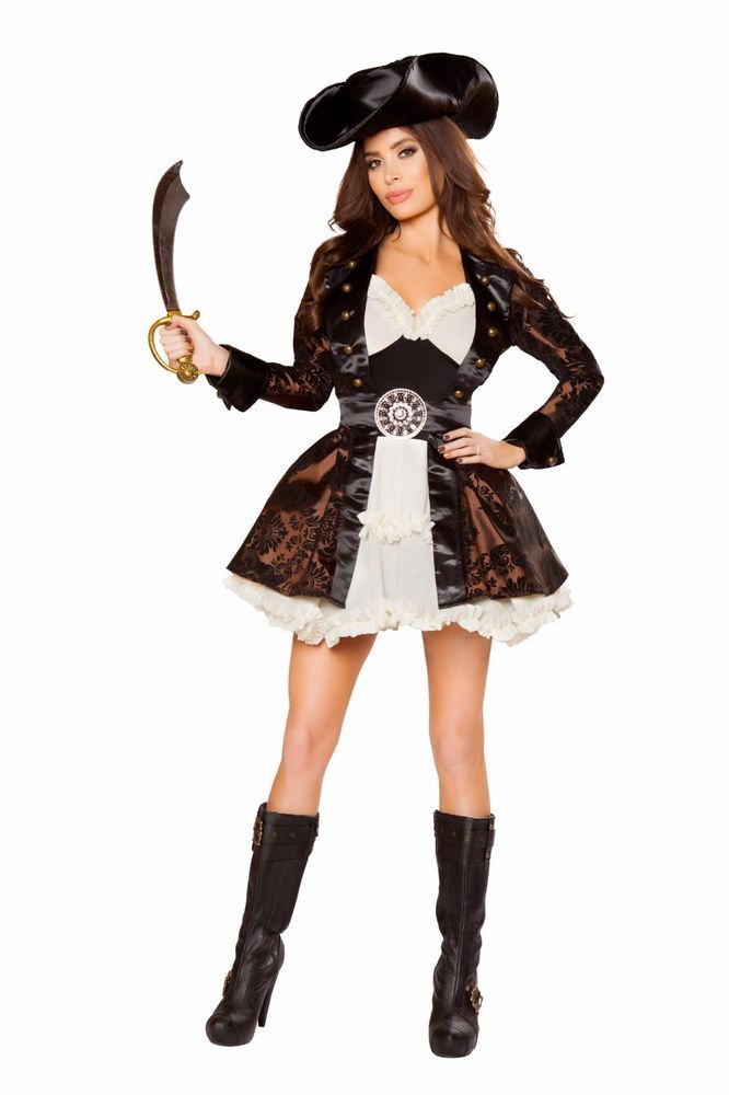 Sexy Womenu0027s Pirate Beauty Halloween Cosplay Pirate Costume Outfit Roma # Romau2026  sc 1 st  Pinterest & Sexy Womenu0027s Pirate Beauty Halloween Cosplay Pirate Costume Outfit ...