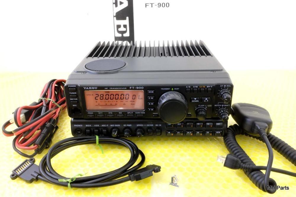 YAESU FT-900 HF All Mode 100 W Collins Filter *Pristine   Consumer  Electronics