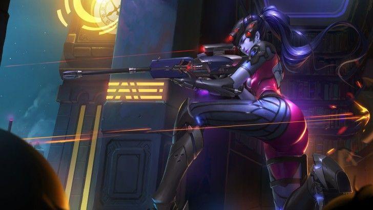 Widowmaker Sniping Overwatch Girl Wallpaper Widowmaker Overwatch Wallpapers Overwatch