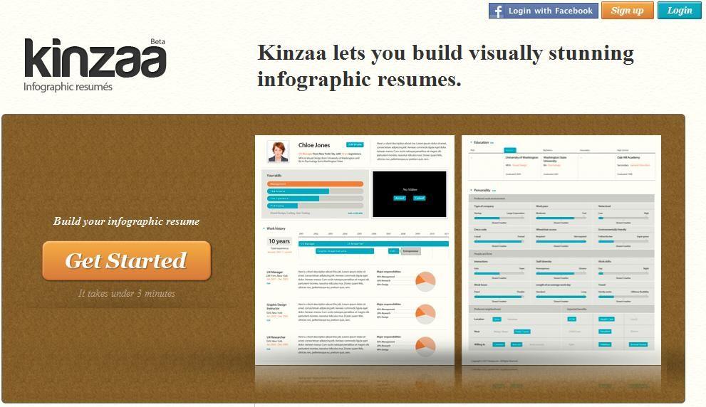 Kinzaa Genera Atractivos Curriculum Vitae De Forma Online   Linkedin Resume  Generator  Get Resume From Linkedin