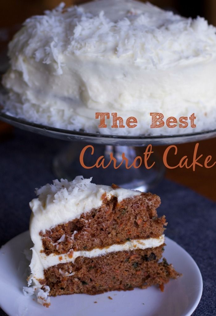 Only Carrot Cake Recipe you Will need Recipe Carrots Cream