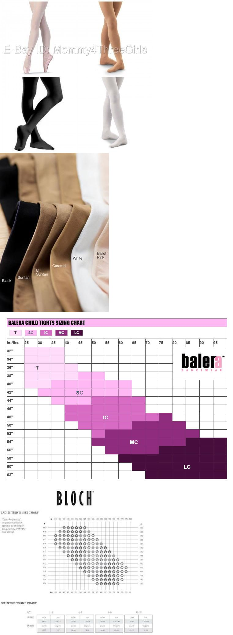 76c0ab9e664e NEW Bloch Capezio Body Wrappers Danskin Footed Dance Tights Toddler ...