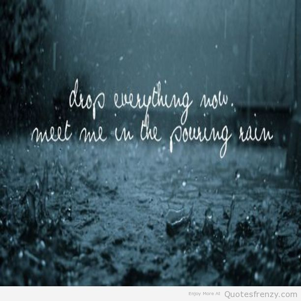 rain love quotes and sayings - photo #25
