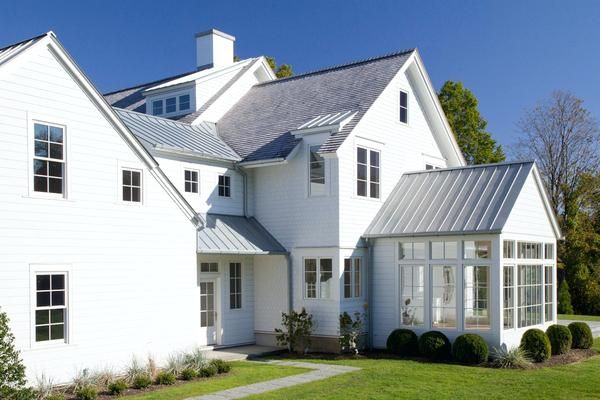 Best Light Gray Shingles House Exterior Metal Roof Shingles 400 x 300