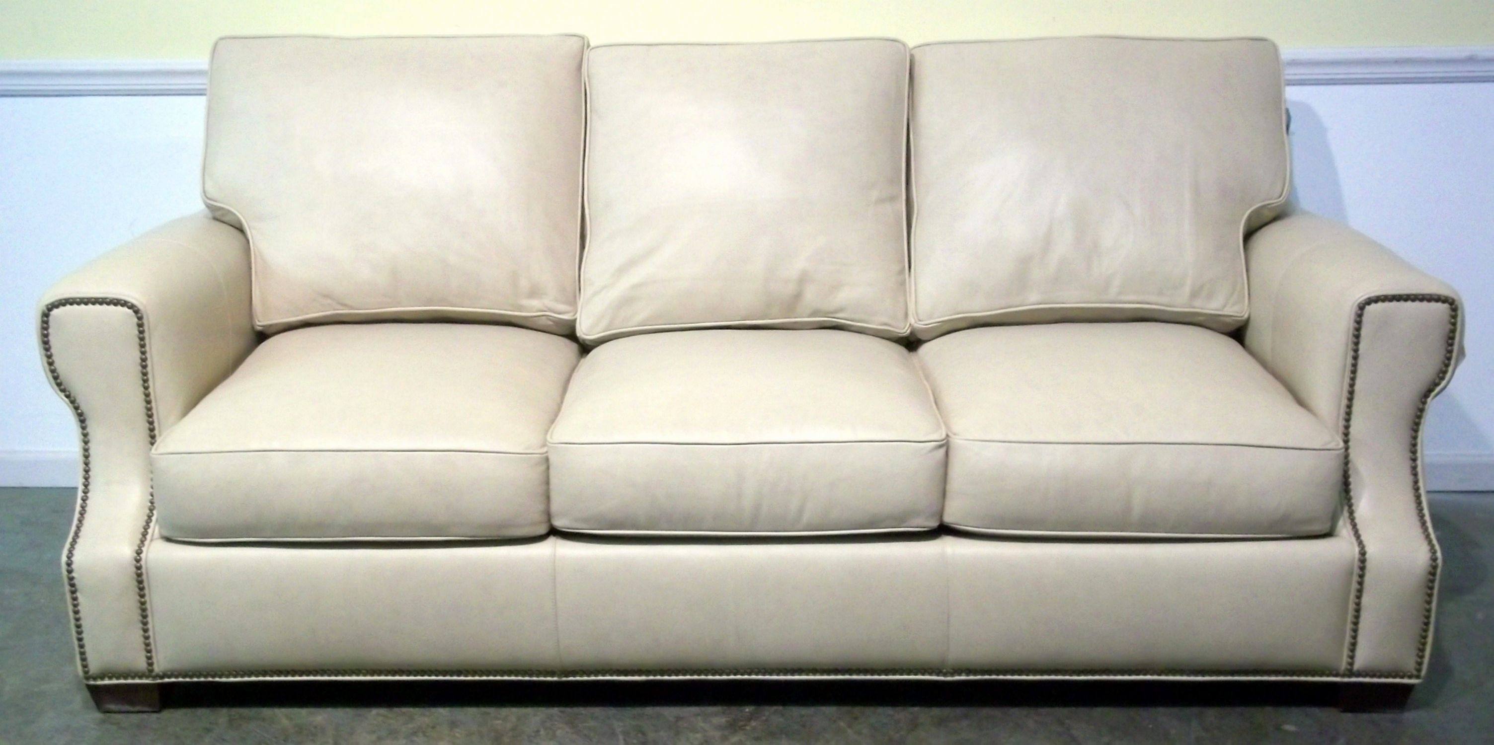 fresh cream colored leather sofa pics