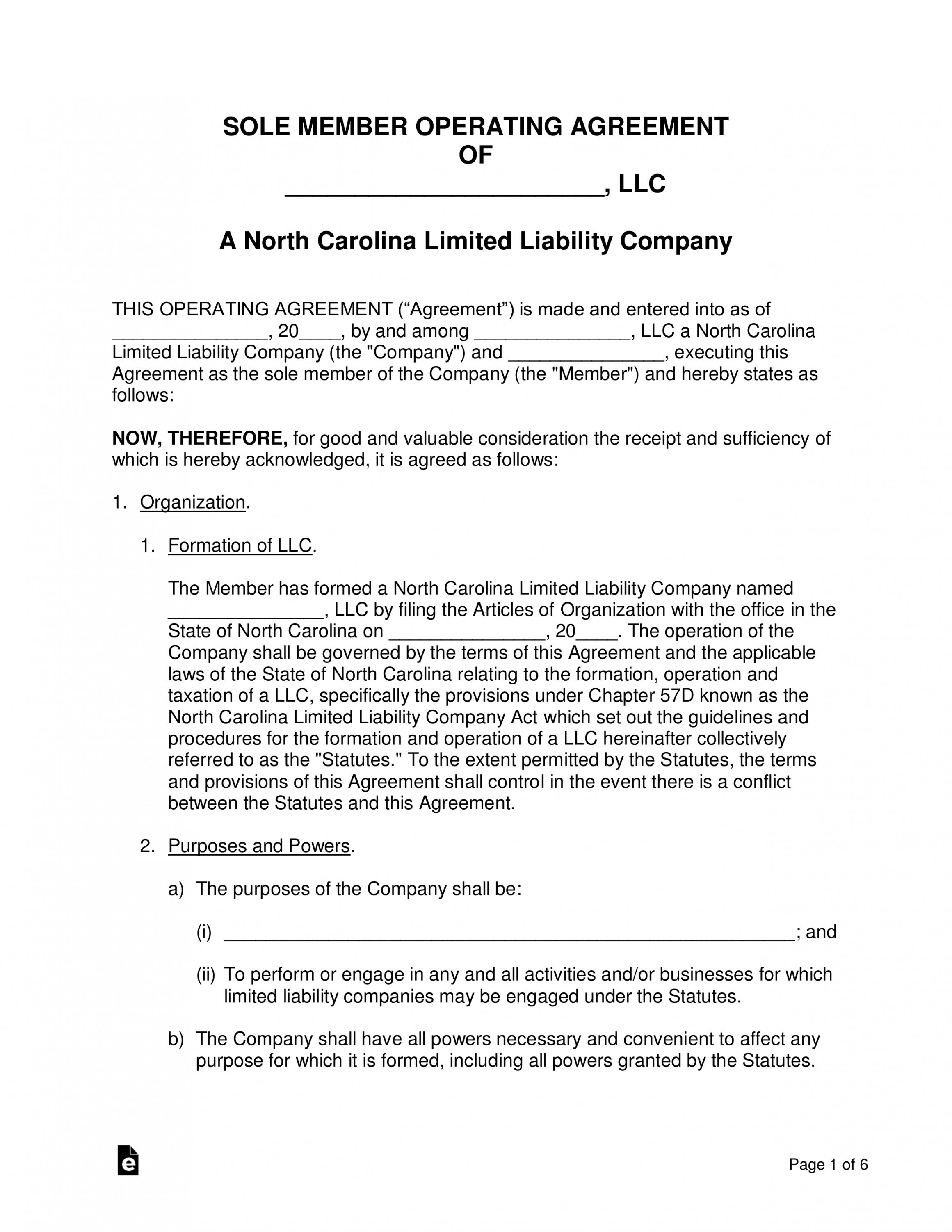 Pin On Agreement Templates North carolina separation agreement template