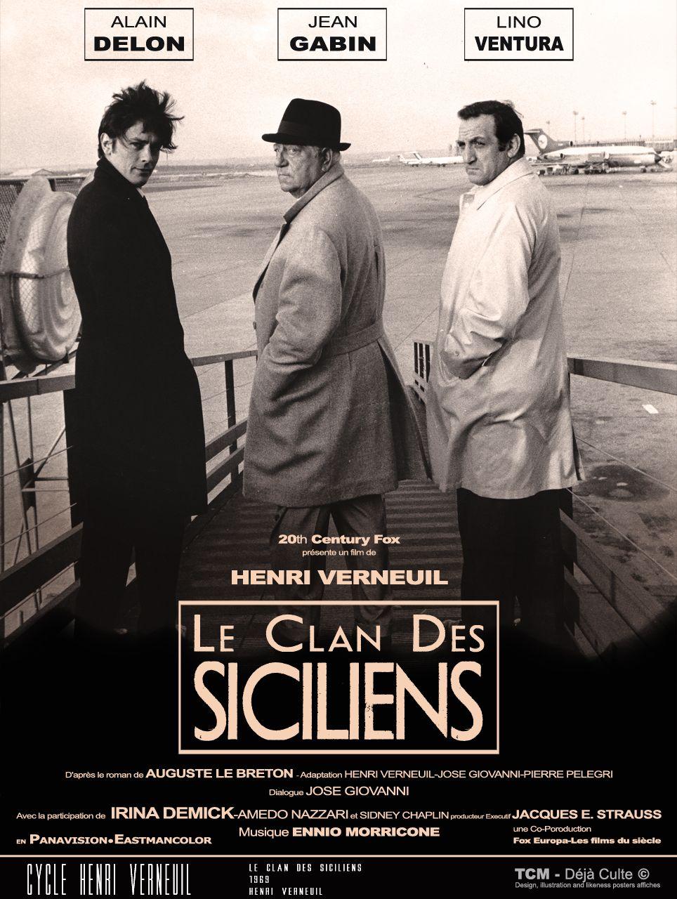 Αποτέλεσμα εικόνας για le clan de siciliens
