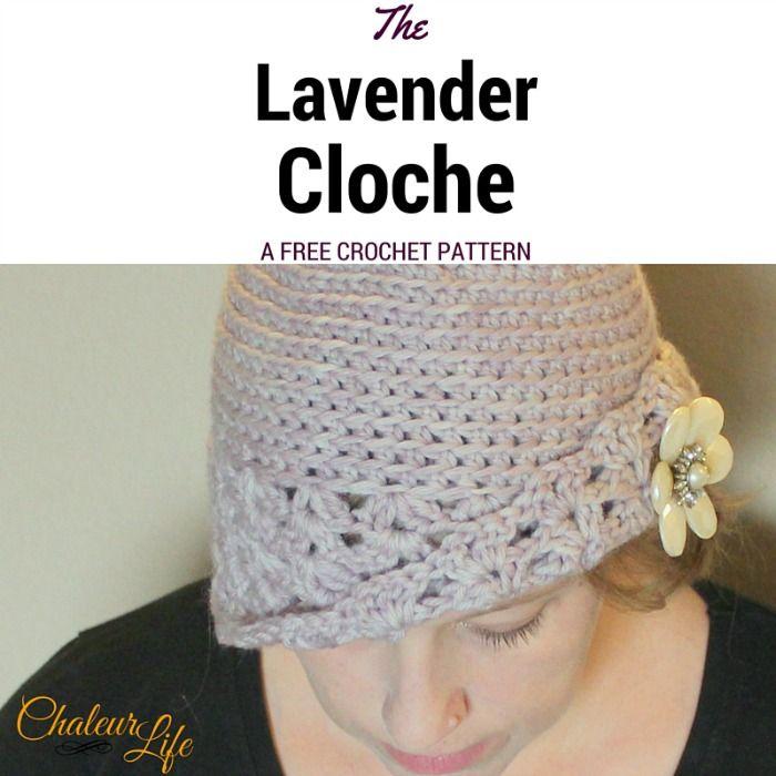 Free Crochet Pattern The Lavender Cloche Free Crochet Lavender