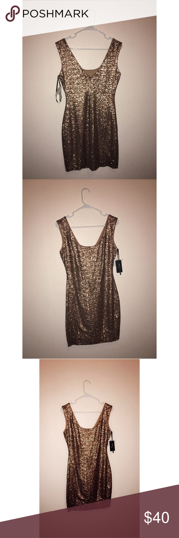 """""""LORI"""" Gld gold dress size 4 by GUESS. Brand new never worn still has tags, super cute! Make offer. G by Guess Dresses"""